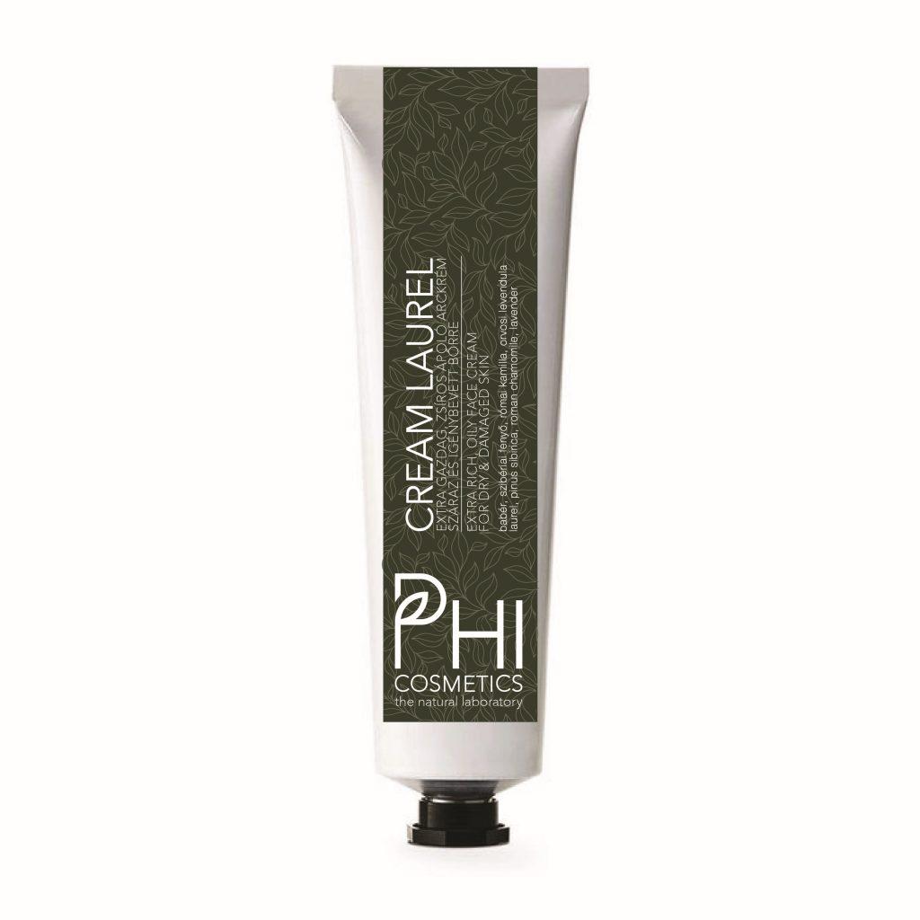 Phi, cream laurel, természetes, tápláló, bőrtápláló, gazdag, növényi olaj, babér, rúzs és más