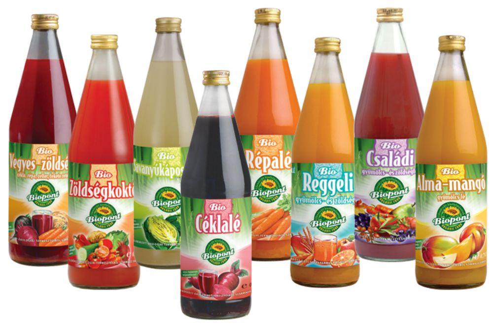 immunerősítés, zöldséglé, gyümölcslé, organikus, biopont, céklalé, rúzs és más