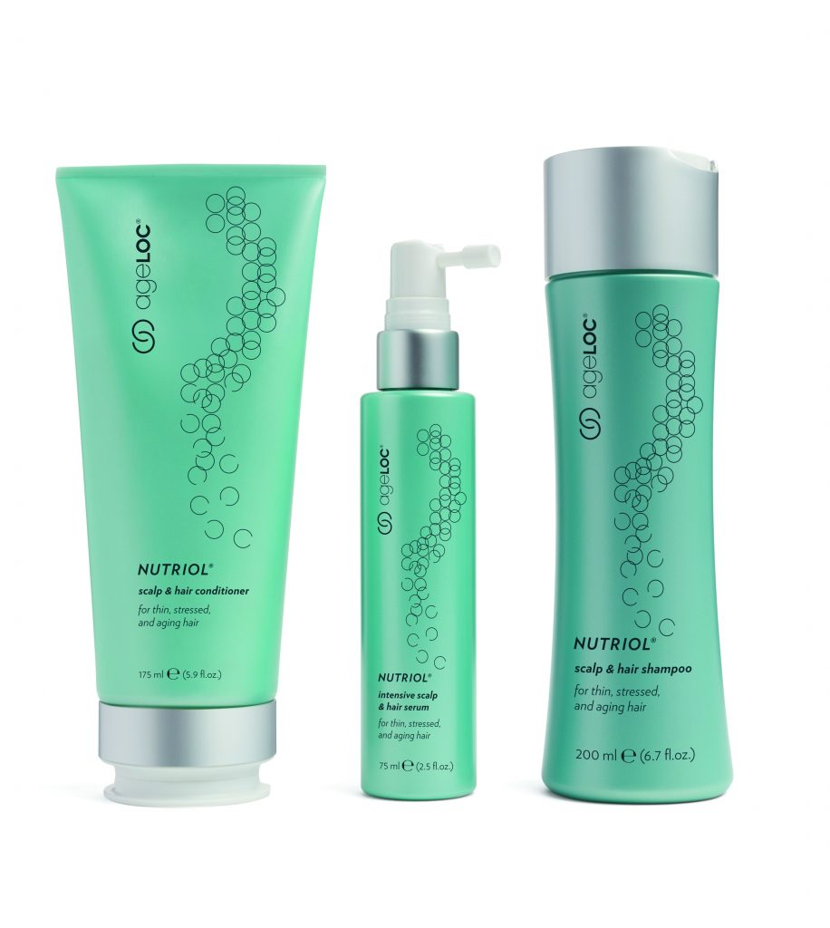 Nutriol,ageLOC,scalp,hair,conditioner,intensive,serum,shampoo