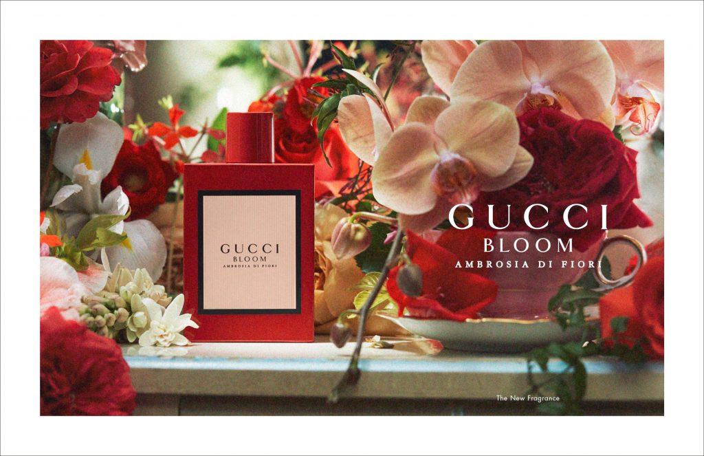 gucci bloom, ambrosia di fiori, edp, intenzív, virágillat, alkalmi, ünnepi, elegáns, illat, edp, rúzs és más, gucci