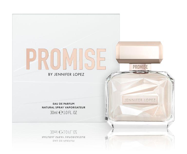 JLo, Jennifer Lopez, Promise, edp, parfüm, 25., illat, bevezetés, rúzs és más