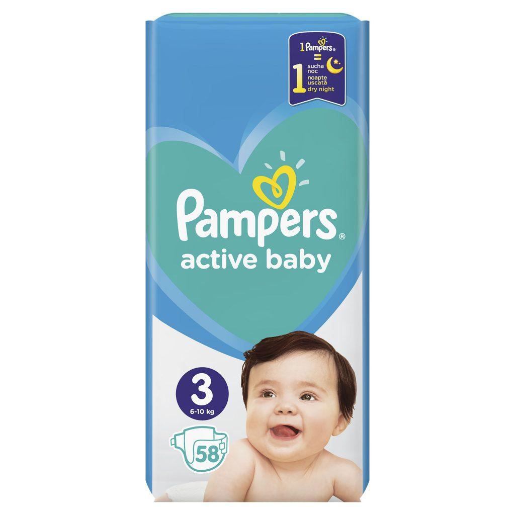 pampers, pelenka, dupla, active, baby, védelem, száraz, bababőr, rúzs és más