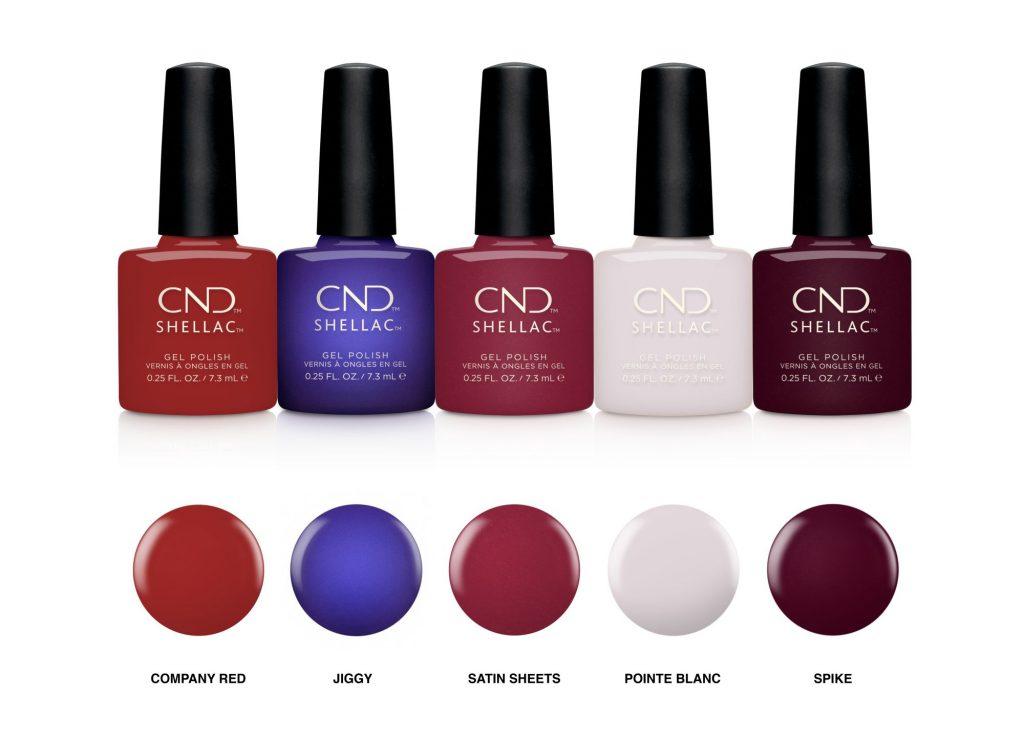 cnd, iconic, ikonikus, kollekció, cnd naill lounge, shellac, vinylux, rúzs és más