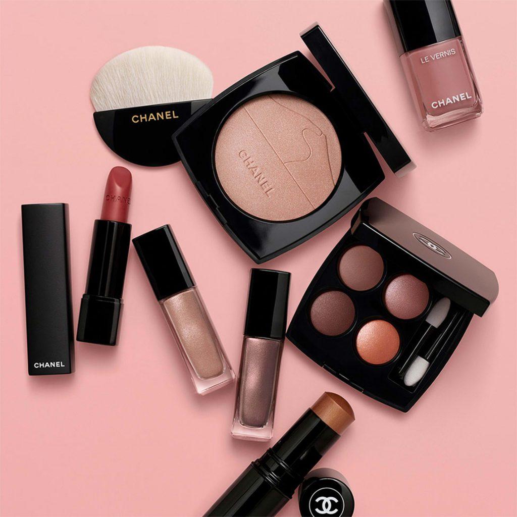 desert dream, chanel, collection, makeup collection, lucia pica, sivatag, halvány, mályva, rúzs és más, smink