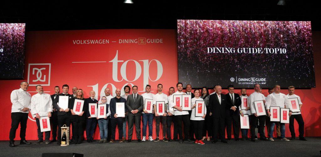 dining guide, michelin, top 100 restaurants, top éttermek, herczeg zoltán, gasztronómia, étterem, rúzs és más, fausto arrighi, top10, top100