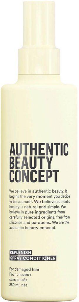 authentic beauty concept, replenishing, spray conditioner, kondícionáló, balzsam spray, hajápolás, rúzs és más