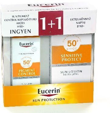 eucerin, napvédelem, napozó, napozó csomag, ajándék, környezetbarát, környezetvédelem, dry touch, száraz, rúzs és más, fényvédő, fényvédelem, napozás