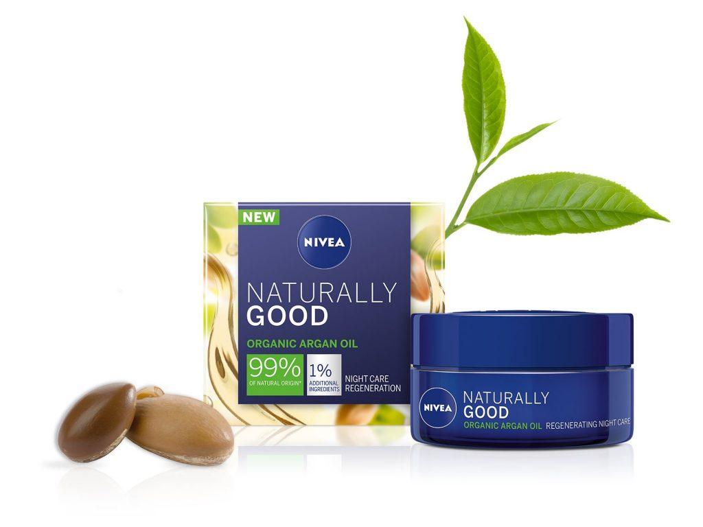 nivea, naturally, naturally good, termeszetes, organikus, aloe, arganolaj, ruzs es mas, vegan, atlathato