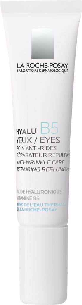hyalub5, la roche-posay, erzekeny, szemkornyek, szemkornyekapolo, hiluronsav, szemranckrem, anti-aging, ruzs es mas