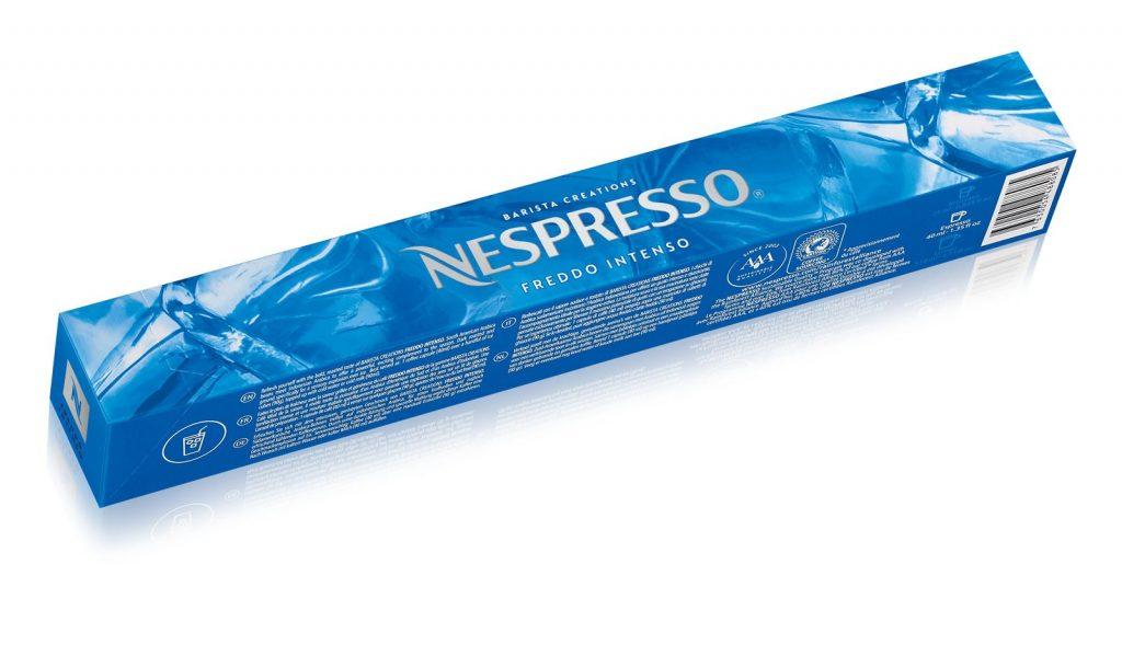nespresso, jegeskávé, jeges kávékoktél, freddo, barista, bartender, kapszula, barista, collection, rúzs és más, kávérecept