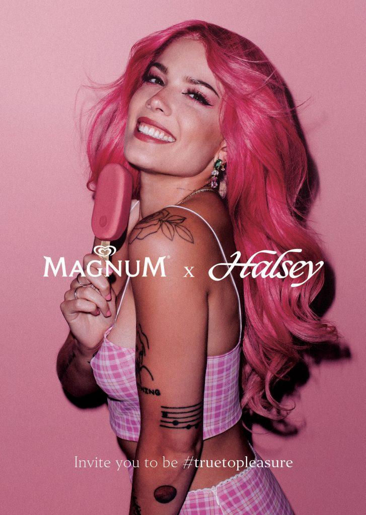 magnum, Halsey, magnum ruby, ruby csokoládé, magnum pleasure store, budapest, jégkrém, rúzs és más, self made, diy
