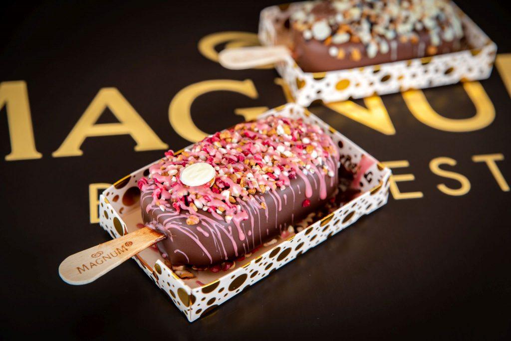 magnum, magnum ruby, ruby csokoládé, magnum pleasure store, budapest, jégkrém, rúzs és más, self made, diy
