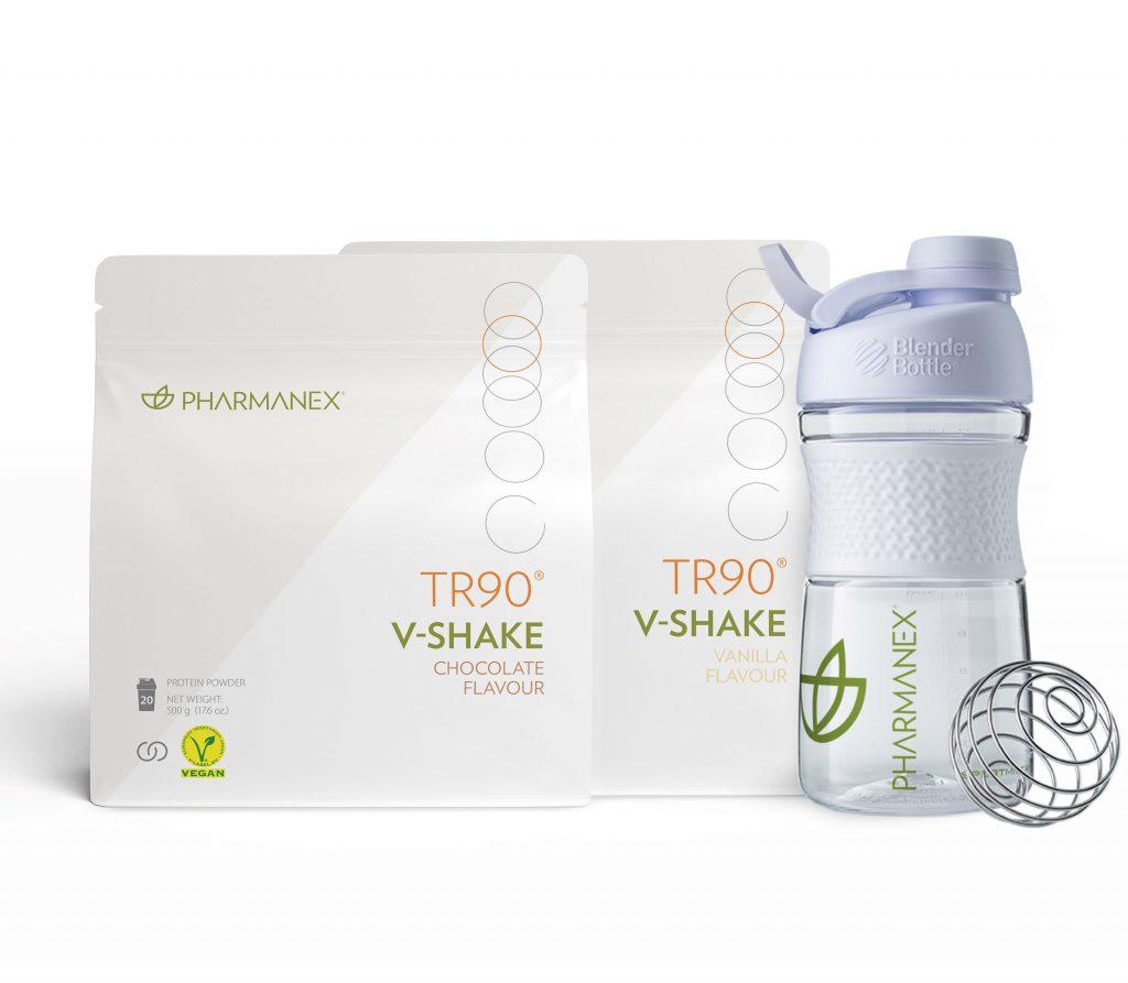 pharmanex, V-shake, TR90, növényi fehérje, vegetáriánus, vegán, növényi fehérjepor, vegán turmix, rúzs és más, fogyókúra, diéta, laktózmentes, vegán