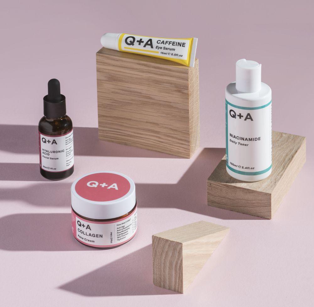 Q+A, hatóanyag kozmetikum, marionnaud, niacinamide, hialuronsav, borsmenta, rúzs és más, bőrápolás, arcápolás