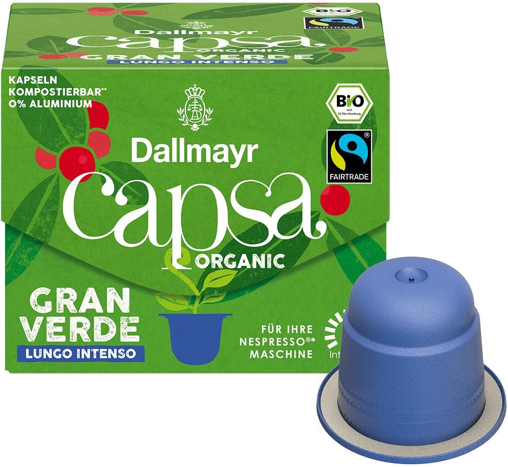 Dallmayr Capsa Gran Verde Lungo Classico Bio