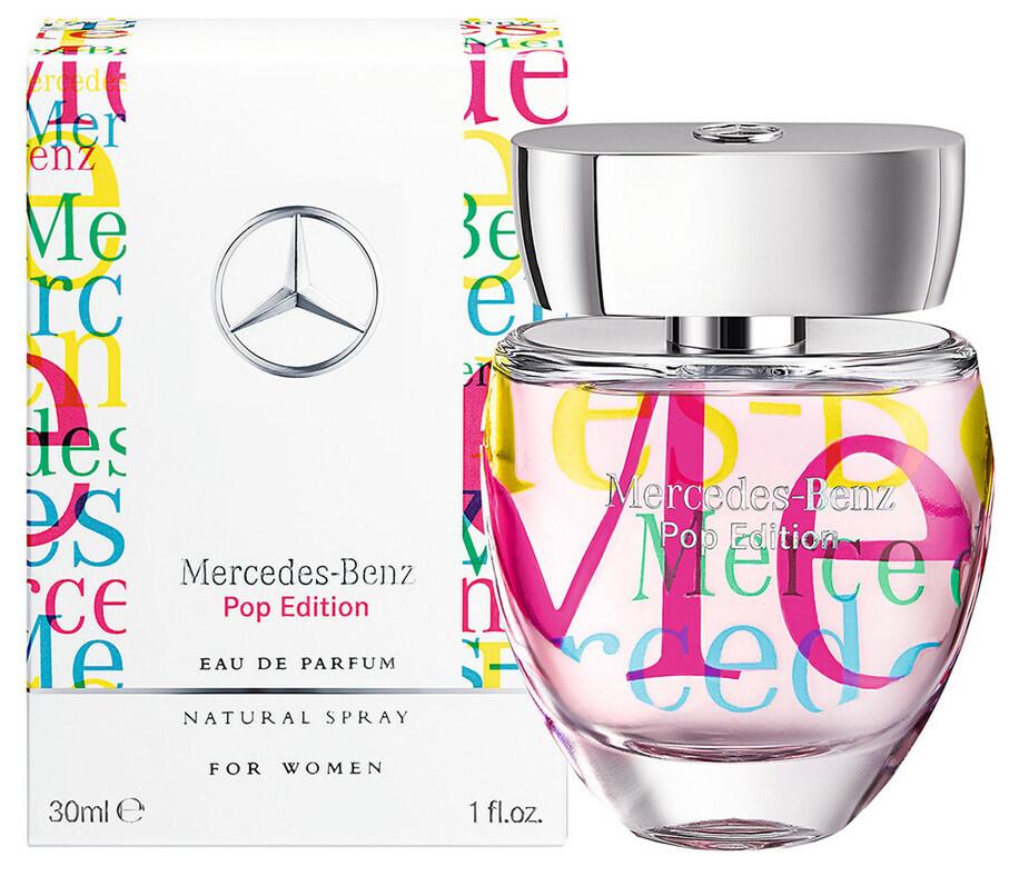 mercedes benz, illat, edp, pop edition, mercedes benz for woman pop edition, rúzs és más, parfüm, dizájner, popkultúra