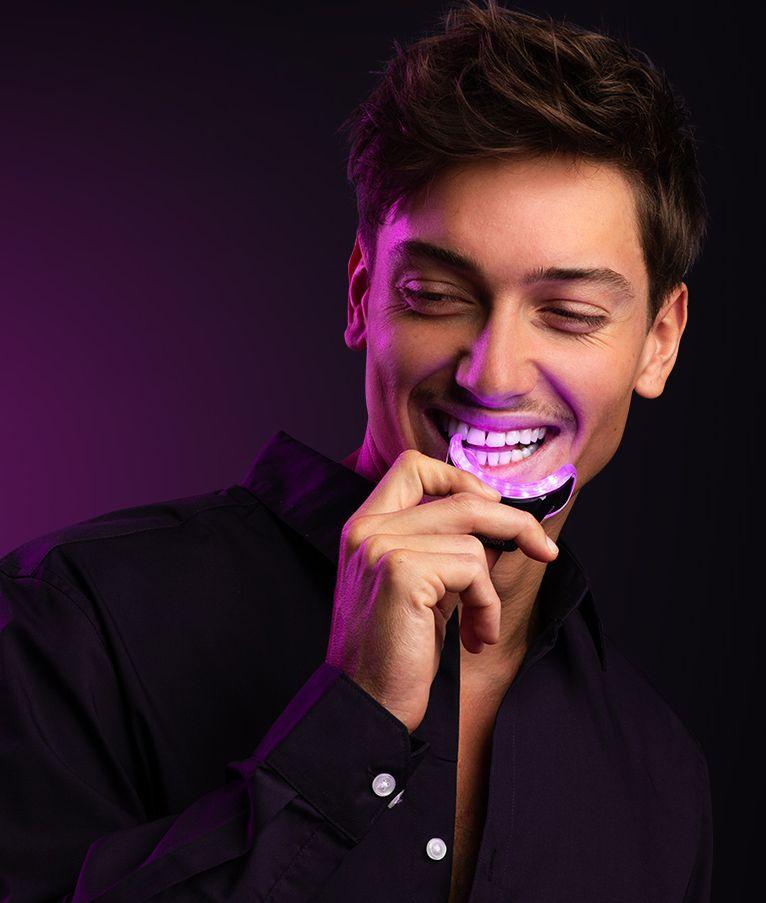 smilepen, fogfehérítés, fogfehérítő, otthoni fogfehérítés, LED, fogápolás, rúzs és más, profimed
