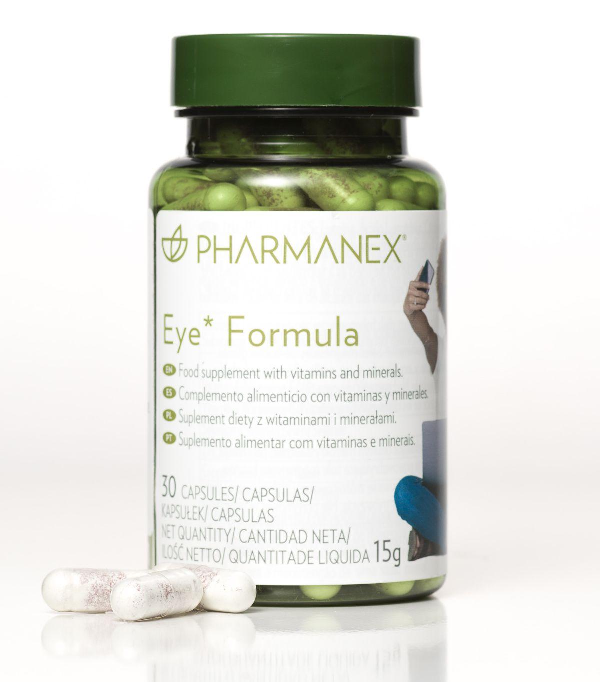 pharmanex, eye, eye formula, látás, szemvitamin, szemvédő, vitamin, táplálékkiegészítő, rúzs és más, cink, antioxidáns, lutein