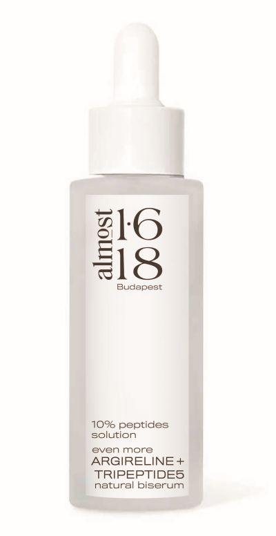 almost 1.618, clean clinical, hatóanyag kozmetikum, tudpományos, minimalista, szérum, niacinamide, hialuronsav, tripeptid, argirelin,szinergiák, bőrápolás, bőrprobléma, zsíros, tág pórus, vízmegkötő, rúzs és más