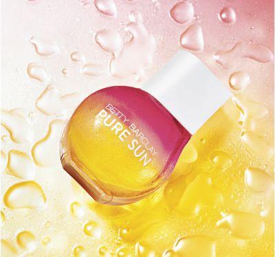 betty barclay, pure sun, edt, edp, illat, nyárillat, parfüm, rúzs és más, napfény, nyár