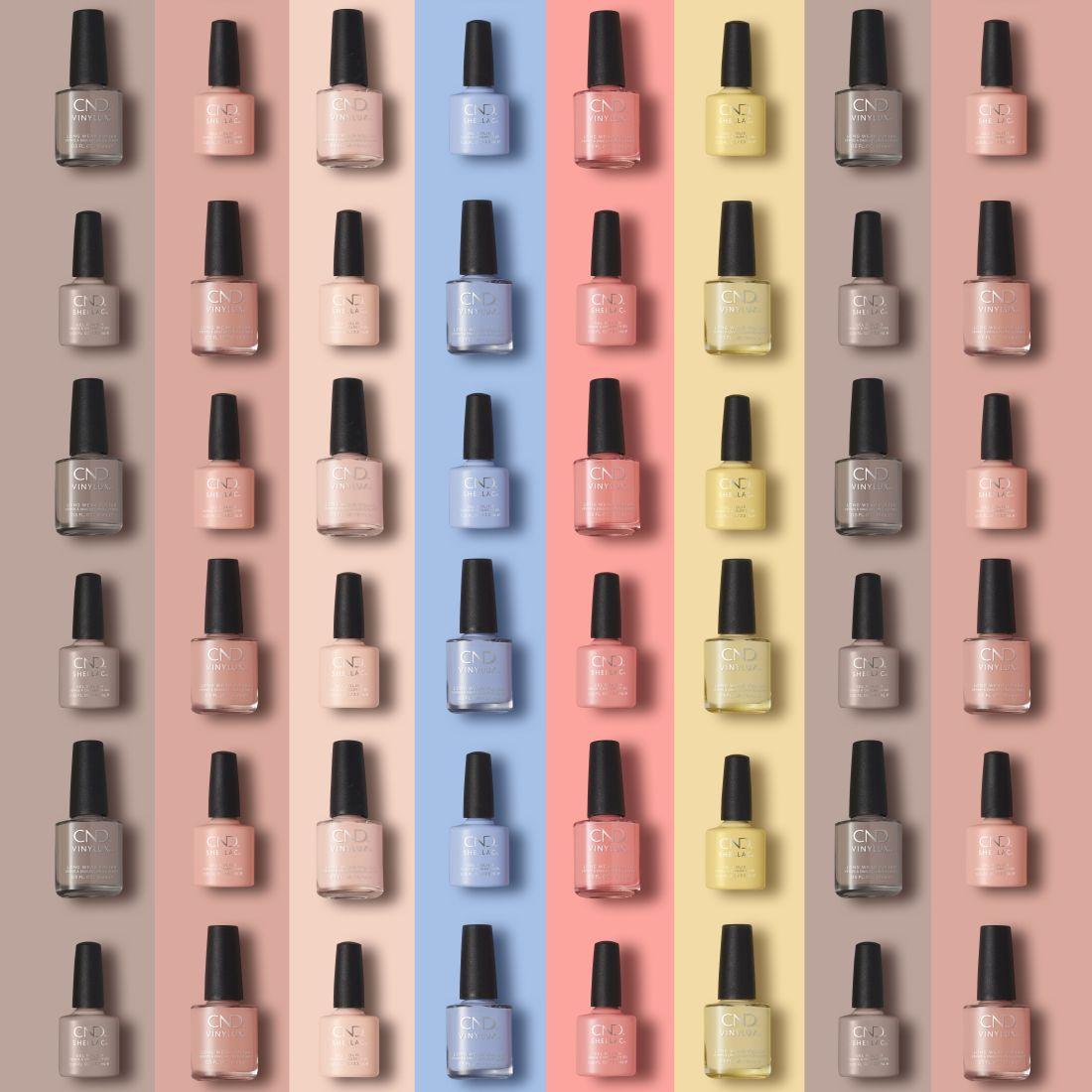 cnd, the colors of you, a te színeid, tavaszi kollekció, tavasz2021, pasztell, géllakk, tartós lakk, gél körömlakk, műkörmös, nail lounge, rúzs és más, köröm