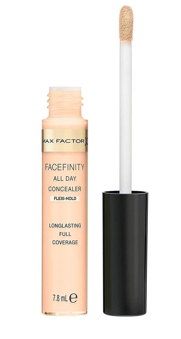 max factor, facefinity, all day, concealer, lipfinity, 24h, tartós, maszkálló, rúzs és más, tartós smink