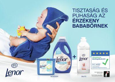 lenor, lenor sensitive, sensitive, érzékeny, bőrérézékenység, mosás, hipoallergén öblítő, babáknak, kímálő, bőrkímélő, rúzs és más
