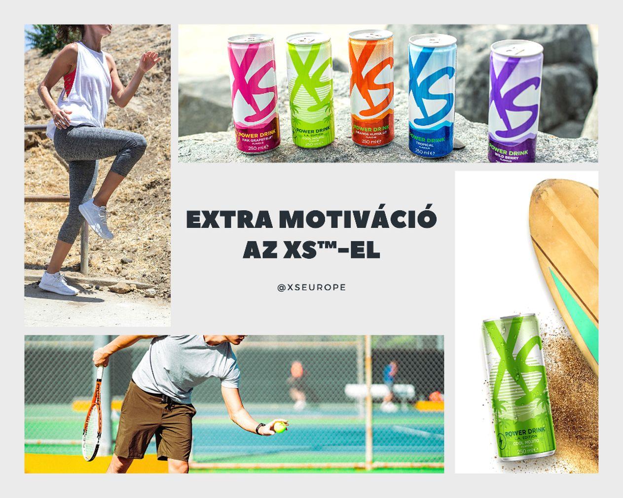 xs, sportital, power drink, elektrolit, edzés, sport, energia, fehérje, erőnlét, mozgás, rúzs és más
