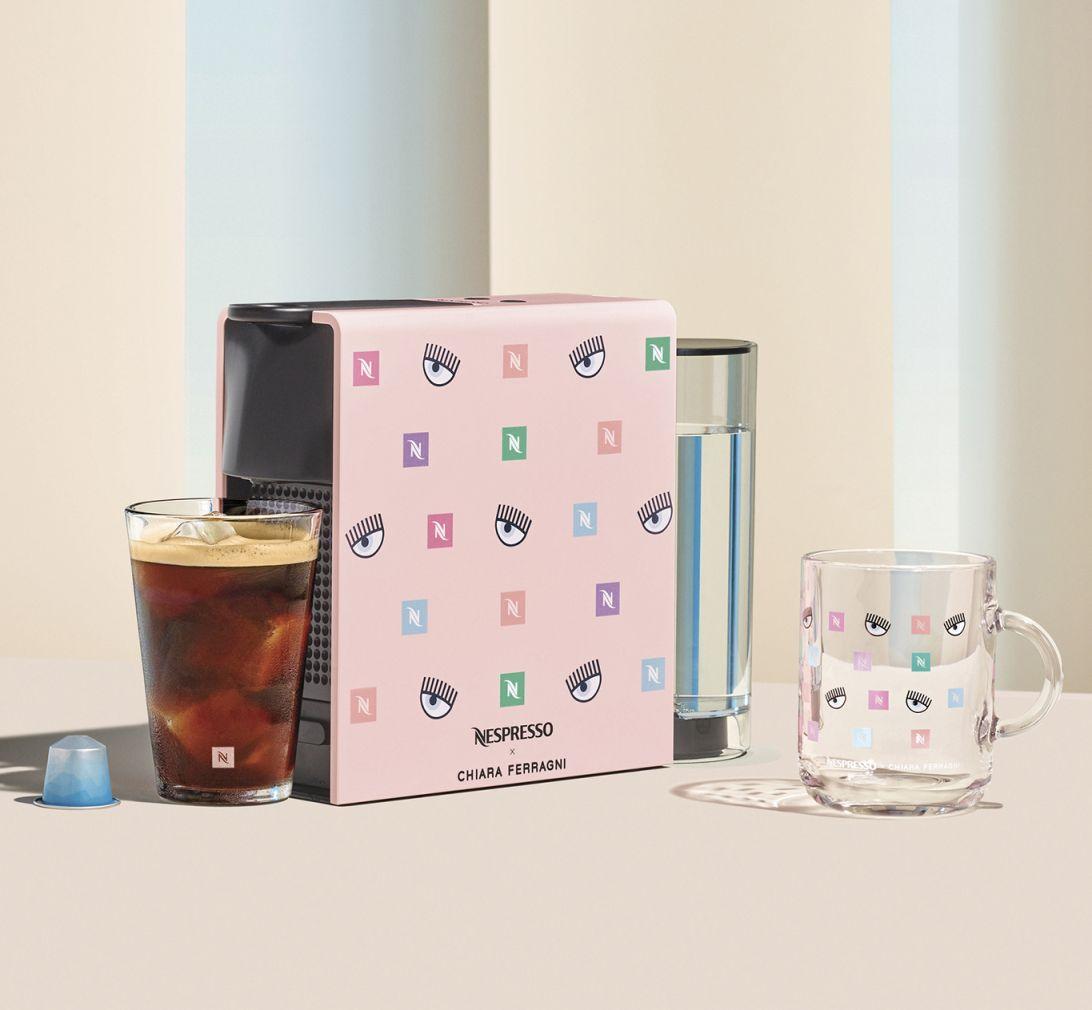 Nespresso, limitált kollekció, Chiara Ferragni, rúzs és más