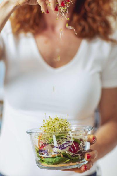 saláta, bélflóra, edinaturally, tanácsadó, életmódtanácsadó, táplálkozás, egészséges, diéta, fogyókúra, rúzs és más