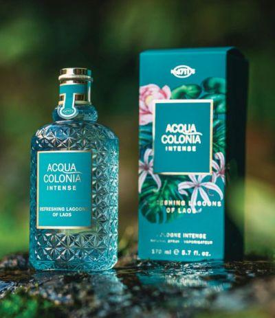 4711 Acqua Colonia Intense, Refreshing Lagoons of Laos, edc, illat, kölni, ruzs es mas, friss, zöld, vizes