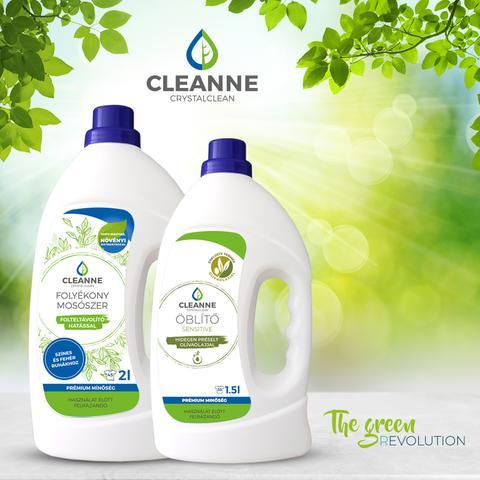 cleanne, ruzs es mas, zold, zold otthon, tisztitoszer, termeszetes, felelos, kornyezetvedelem